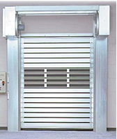 Rytec® Spiral® High Performance Rigid Rolling Door
